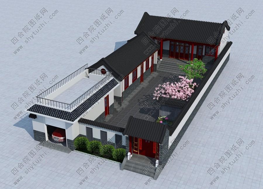 农村四合院别墅设计图